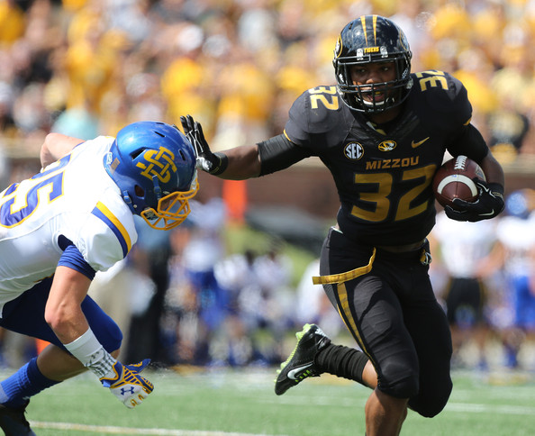 Mizzou RB Russell Hansbrough (Photo Courtesy of Ed Zurga/Getty Images North America)