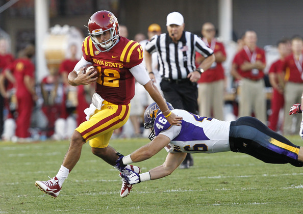 ISU QB Sam B. Richardson (Photo Courtesy of David Purdy/Getty Images North America)