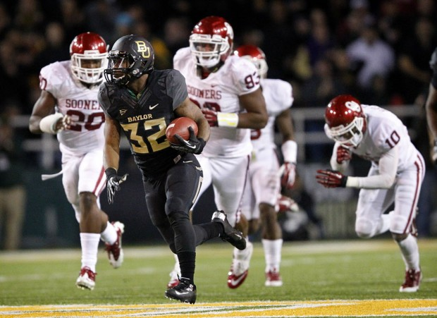 Baylor RB Shock Linwood (Photo Courtesy of Tom Fox/The Dallas Morning News)