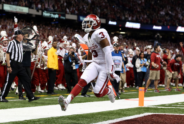 OU WR Sterling Shepard (Photo Courtesy of Sean Gardner/Getty Images)