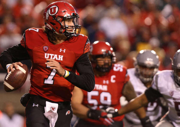 Utah QB Travis Wilson (Photo Courtesy of Laura Seitz/Deseret News)