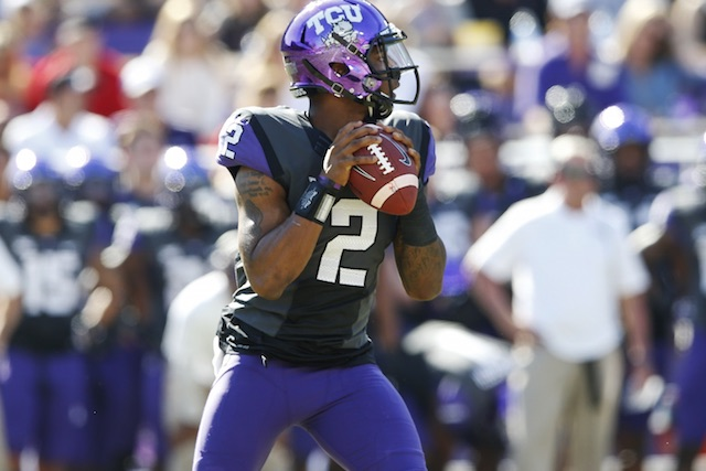 TCU QB Trevone Boykin (Photo Courtesy of USATSI)