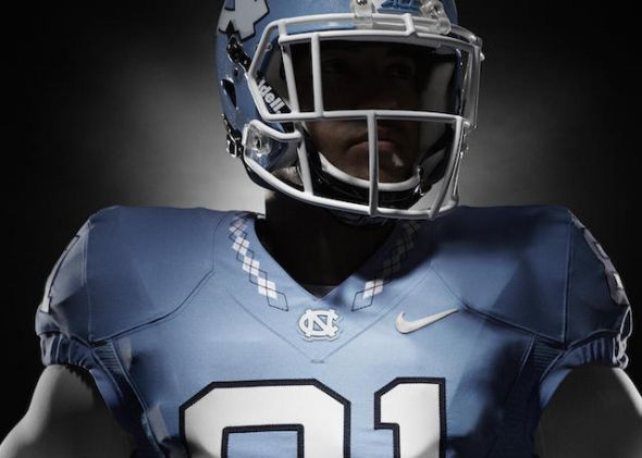 2015 UNC Nike Redesign with argyle collar
