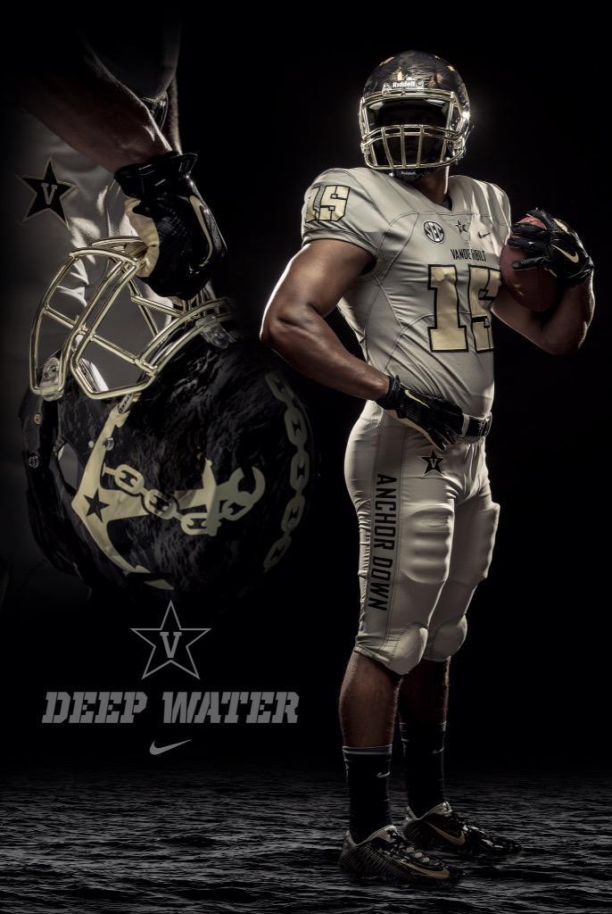 Vanderbilt's Deep Water Uniform