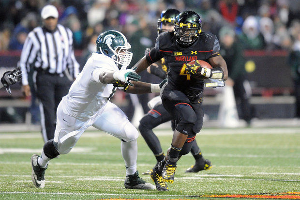 Maryland DB William Likely (Photo Courtesy of Mitchell Layton/Getty Images)