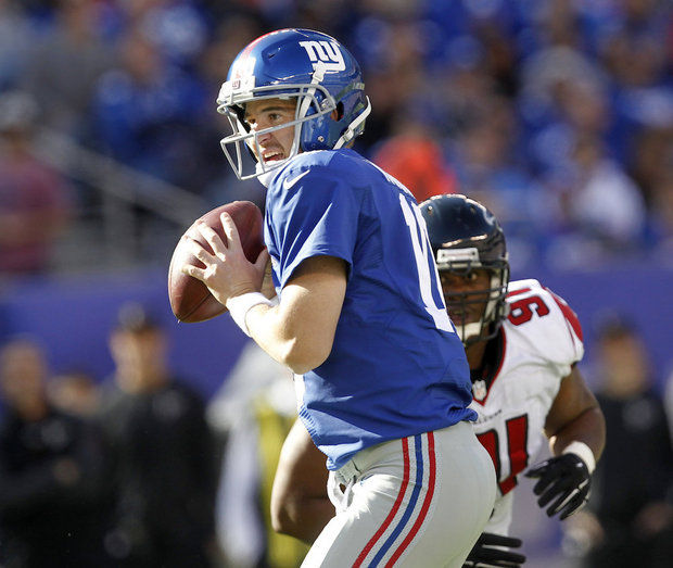 Giants QB Eli Manning (Photo Courtesy of Andrew Mills/NJ Advance Media for nj.com)