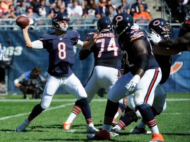 Bears QB Jimmy Clausen is likely to start in Jay Cutler's stead this week (Photo Courtesy of David Banks/Associated Press)