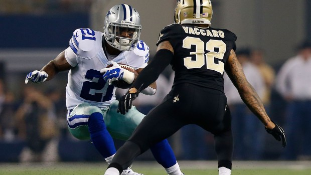 Dal RB Joseph Randle (Photo Courtesy of Tom Pennington/Getty Images)