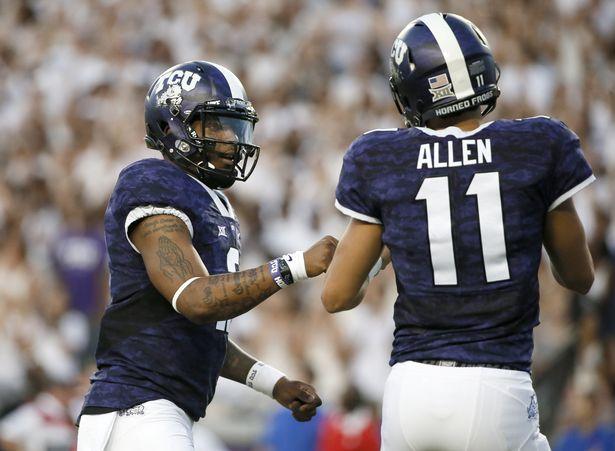 TCU QB Trevone Boykin (Photo Courtesy of AP Photo/Tony Gutierrez)