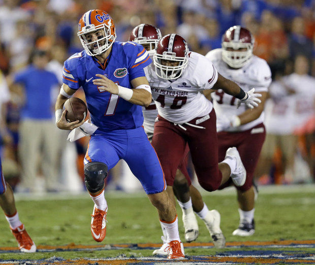 UF QB Will Grier (Photo Courtesy of AP Photo/John Raoux)
