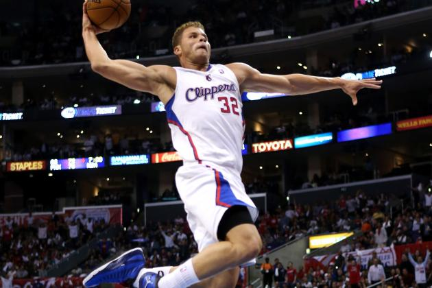 Blake Griffin (Photo Courtesy of Stephen Dunn/Getty Images)