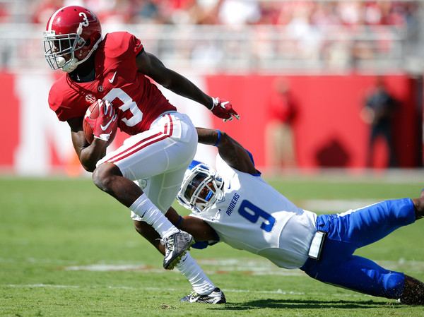 Alabama WR Calvin Ridley (Photo Courtesy of Kevin C. Cox/Getty Images North America)
