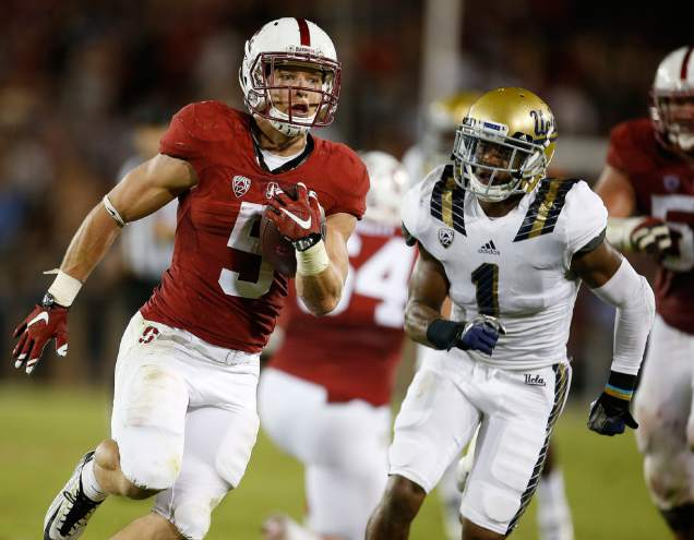 Stanford RB Christian McCaffrey (AP Photo/Tony Avelar)