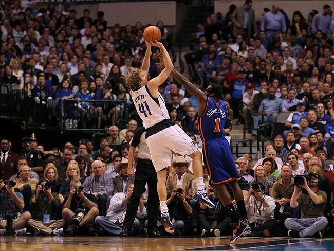 Dallas F Dirk Nowitzki (Photo Courtesy of Matthew Emmons/US PRESSWIRE)