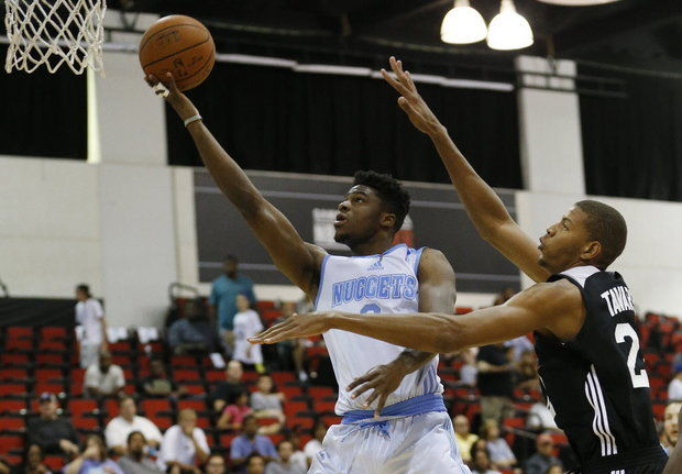 Denver PG Emmanuel Mudiay (Photo Courtesy of AP Photo/John Locher)