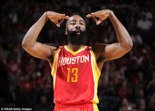 Houston SG James Harden (Photo Courtesy of NBA Entertainment/Getty Images)