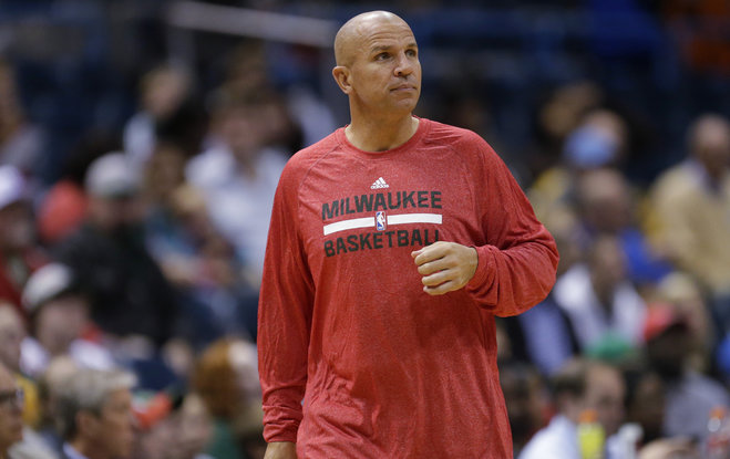 Milwaukee Coach Jason Kidd (Photo Courtesy of Mark Hoffman/Journal Sentinel)