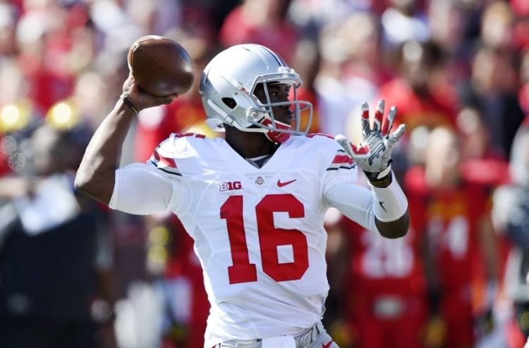 OSU QB J.T. Barrett (Photo Courtesy of Tommy Gilligan/USA TODAY Sports)