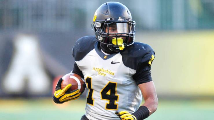 App State RB Marcus Cox (David Scearce/App State Sports)