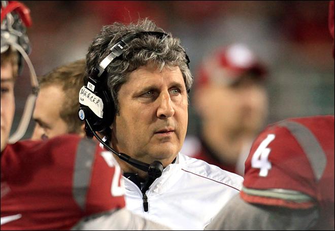 WSU Coach Mike Leach (Dean Hare/AP Photo)