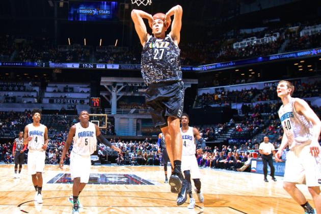 Utah Jazz C Rudy Gobert (Photo Courtesy of Nathaniel S. Butler/Getty Images)