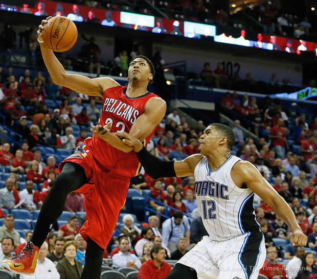 Pelicans F Anthony Davis (Photo Courtesy of Ted Jackson/Nola.com/The Times-Picayune)