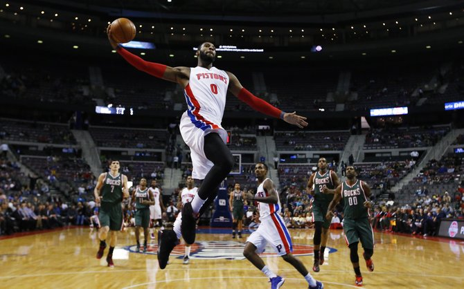 Detroit C Andre Drummond (Photo Courtesy of Paul Sancya/AP Photo)