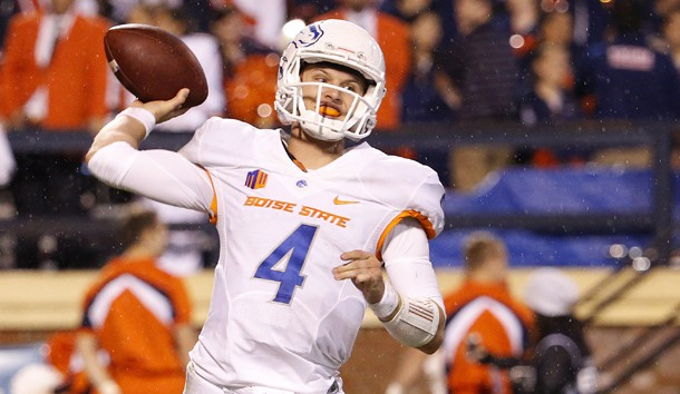 Boise State QB Brett Rypien (Photo Courtesy of Amber Searls/USA TODAY Sports)
