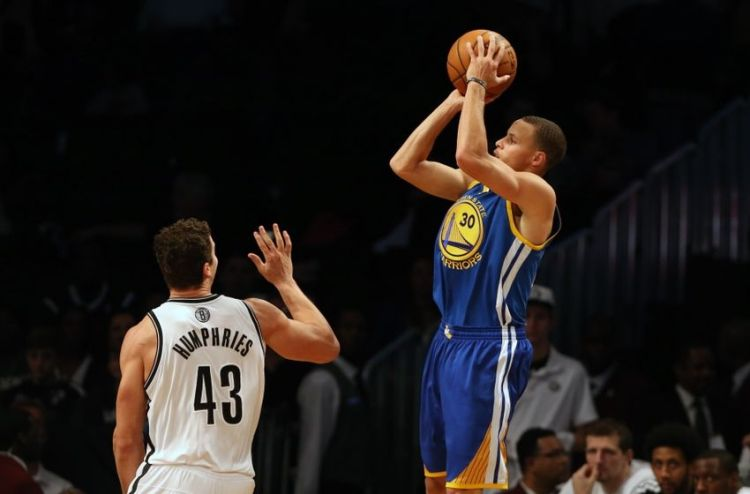 Steph Curry (Anthony Gruppuso:USA TODAY Sports)