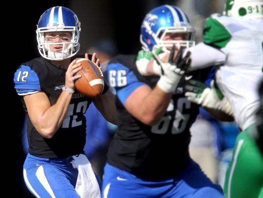 MTSU QB Brent Stockstill (Photo Courtesy of Helen Comer/Daily News Journal)