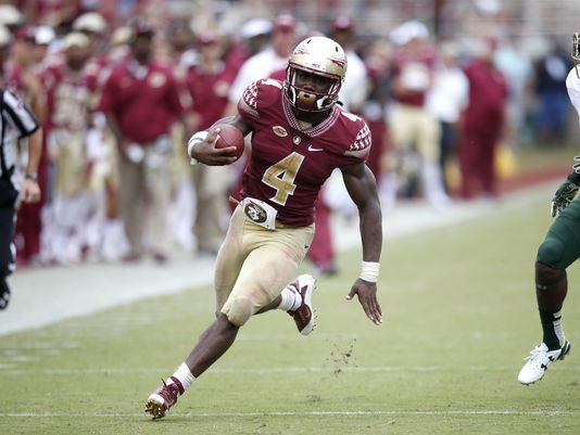 FSU RB Dalvin Cook (Photo Courtesy of Joe Rondone/Tallahassee Democrat)
