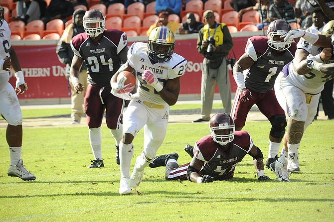 ASU RB Darryan Ragsdale (Photo Courtesy of Alcorn State Athletics)