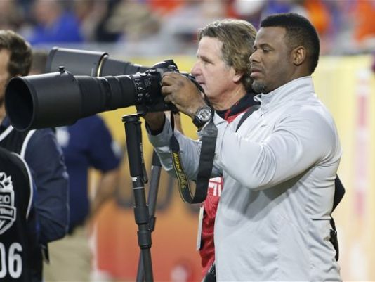 Ken Griffey, Jr. (Photo Courtesy of Ross D. Franklin/AP)