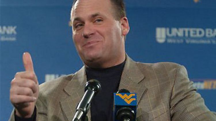 Rich Rodriguez approves this message (Photo Courtesy of cheeringforlaundry.files.wordpress.com)