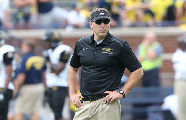 App St. Coach Scott Satterfield (Photo Courtesy of Leon Halip/Getty Images North America)