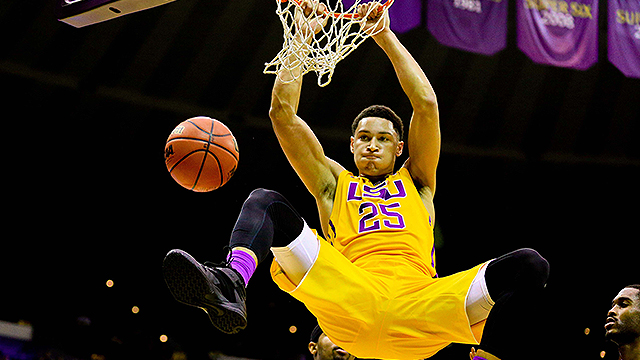 LSU F Ben SImmons (Photo Courtesy of USA TODAY)