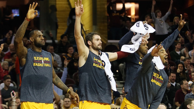 Cavs Can't Fear Change (Ron Schwane:USA TODAY Sports)