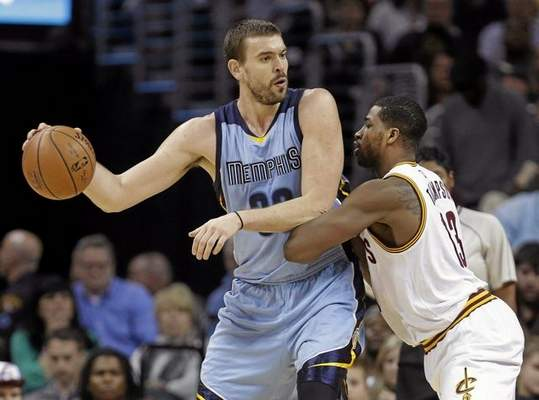 Marc Gasol (AP Photo:Mark Duncan)