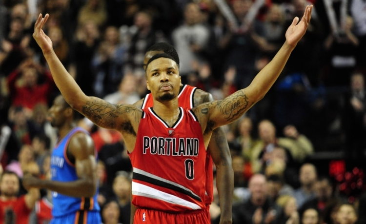 Damian Lillard (Steve Dykes:USA TODAY Sports)