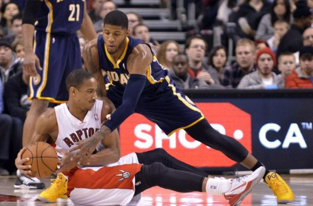 PacersRaptors (Mark Konezny:USA TODAY Sports)