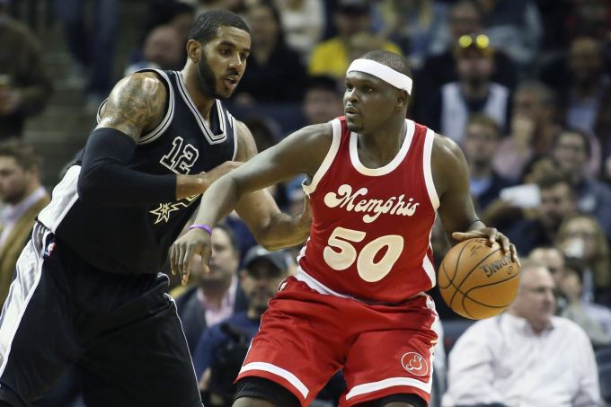 SpursGrizzlies (Nelson Chenault:USA TODAY Sports)