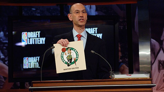 Adam Silver (Jennifer Pottheiser:NBAE via Getty Images)
