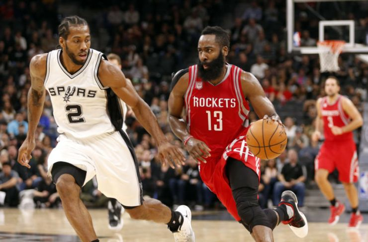 Harden-Kawhi (Soobum Im:USA TODAY Sports)