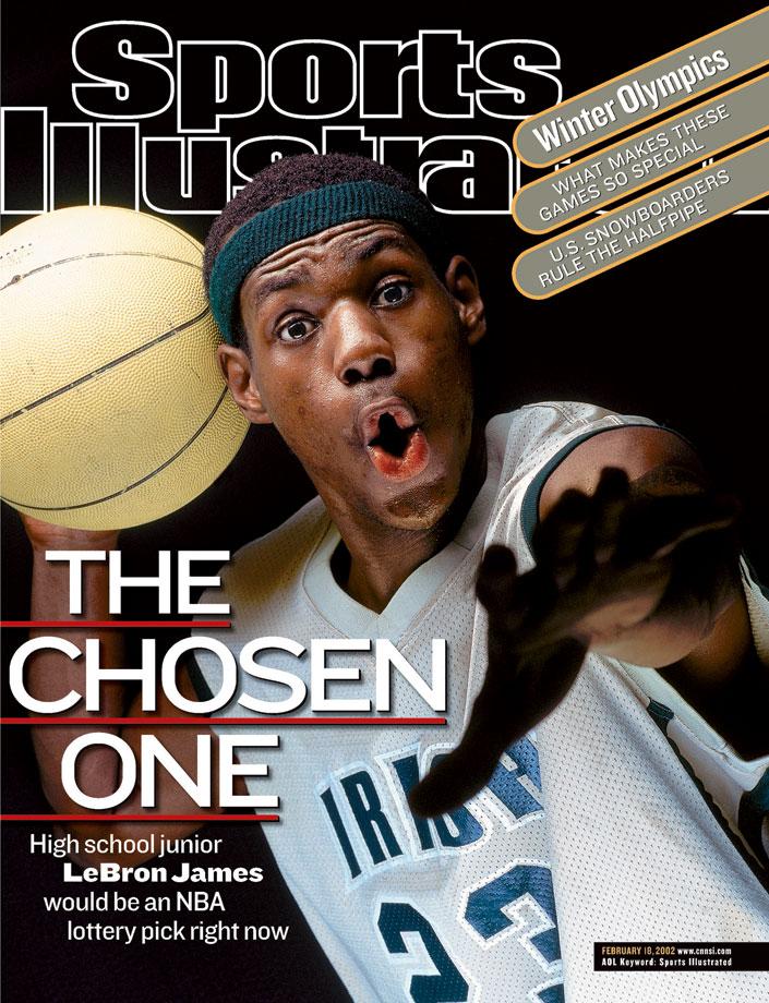 LeBron (Michael J LeBrecht II:Sports Illustrated)