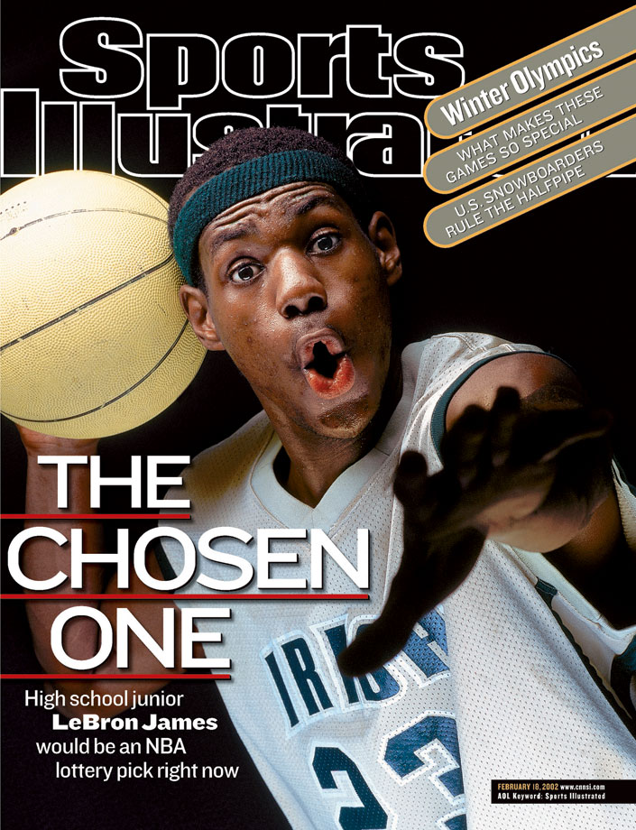 LeBron (Michael J LeBrecht II:Sports Illustrated)