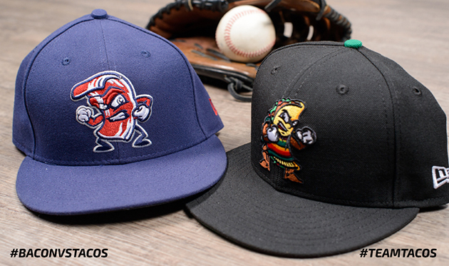 Bacon vs Tacos (milb.com)