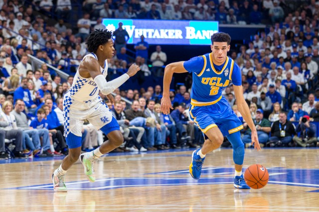 Ball and Fox (Michael Zshornack:Daily Bruin)