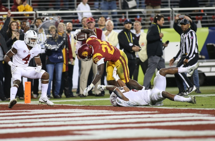 NCAA Football 2017: Stanford Cardinals vs USC Trojans DEC 01
